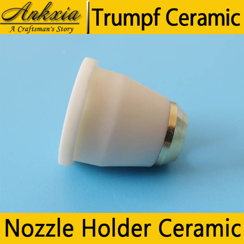 1PCS Trumpf Laser Nozzle Holder Ceramic 0936678 For Trumpf Co2 Fiber Laser Cutting Machine