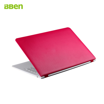 "Bben 14 ""quad core n3150 ordenadores gaming laptop 1.60 ghz-2.08 ghz 4 gb + 32 gb + 500 gb hdd webcam wifi ultrabook rosa negro blanco"