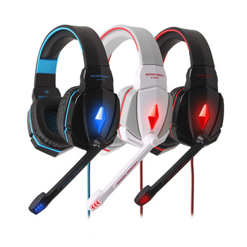 KOTION CADA G4000 3.5mm Wired Profesional Gaming Headset CF LOL Auriculares de la Computadora de Luz LED Estéreo con el Mic para PC juegos