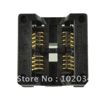 NUEVA SOP2x8 1.27mm SOP20 IC Test Socket/Programador Adaptador/Burn-in Socket (OTS-20 (2x8)-1.27-01)