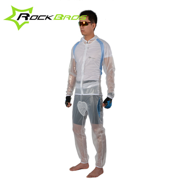 ROCKBROS Cycle Bicycle Windcoat Bicycle Waterproof Cycling Suits MTB Bike Multifunction Climing Fishing Rainproof Jersey Pants